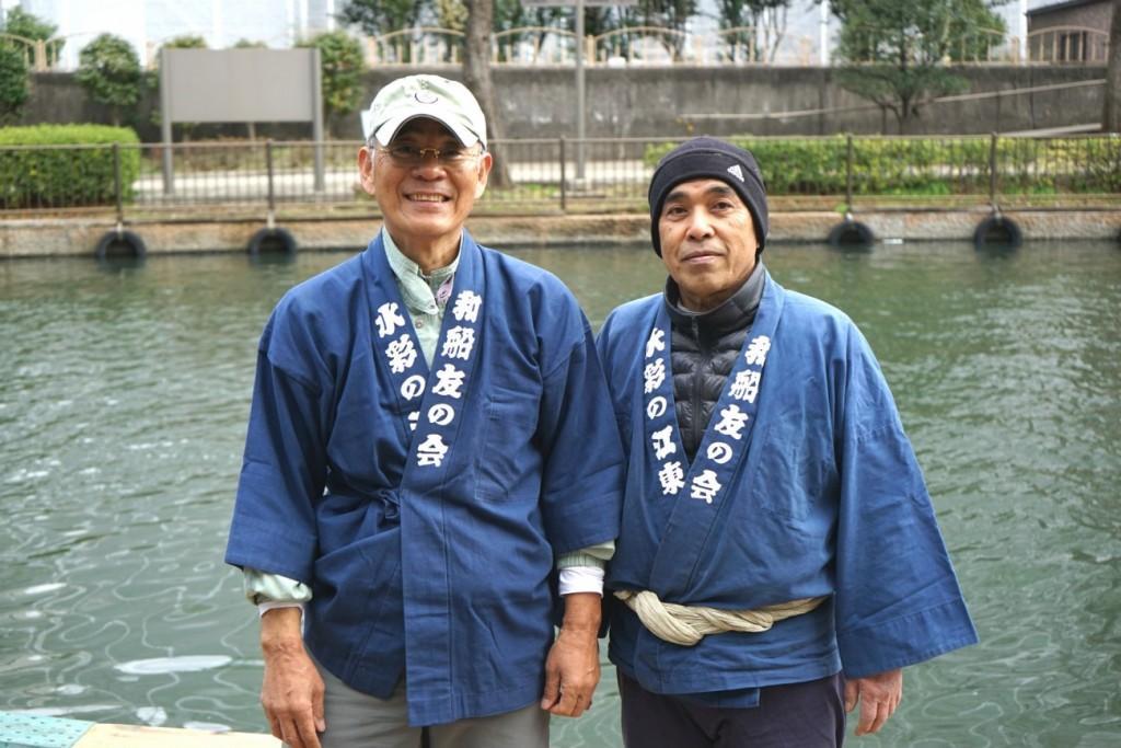 Mr.Nishizawa (a sinistra) and Mr.Tomizuka (a destra)