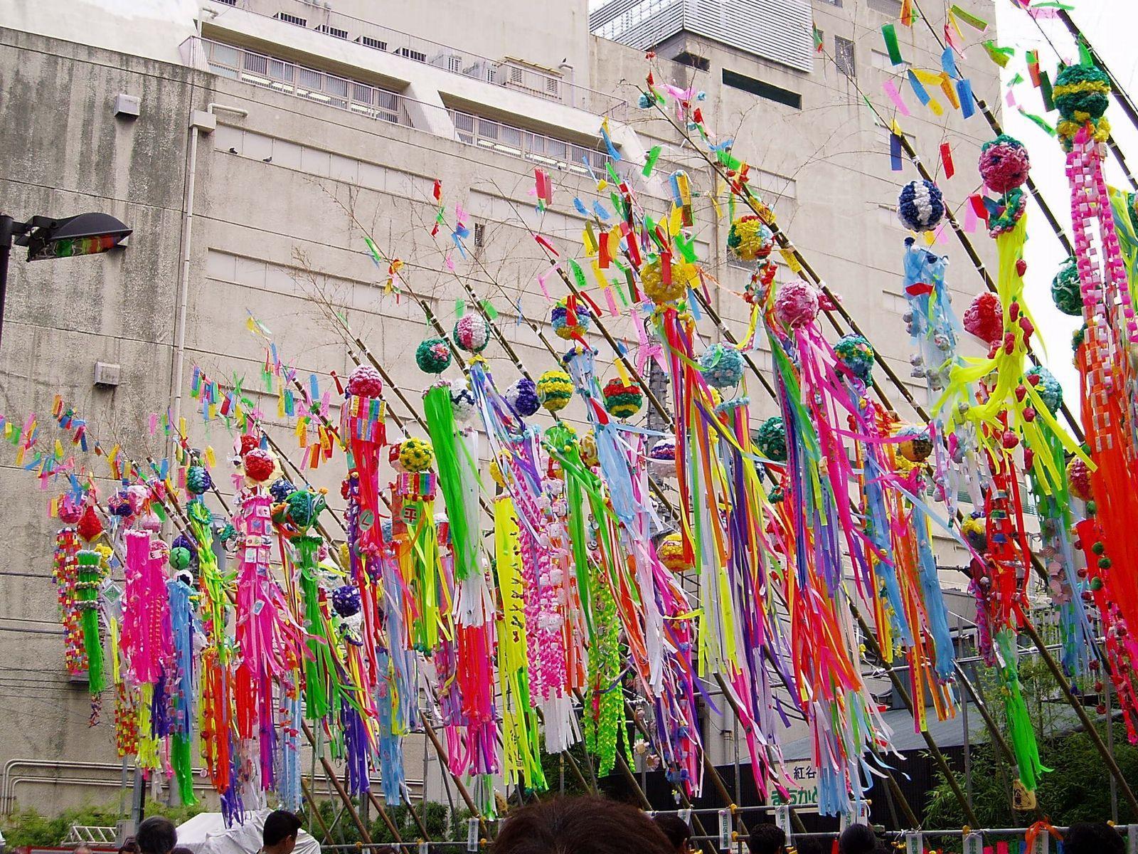 Decorazioni per il Tanabata