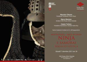 NINJA E SAMURAI. Magia ed estetica @ Torino