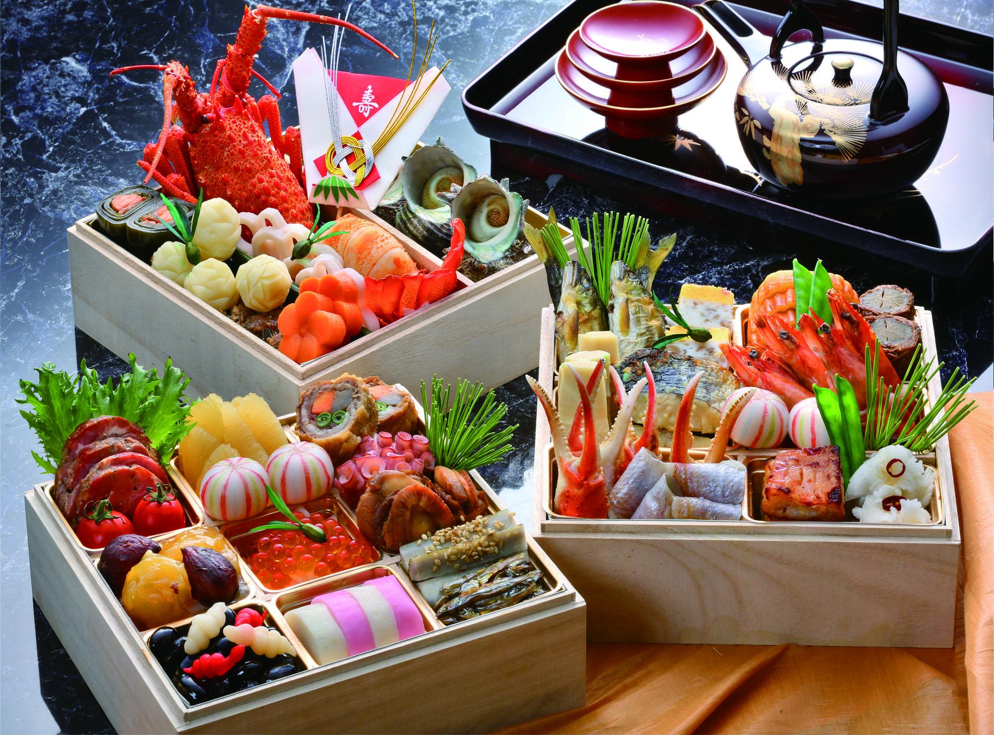 osechi cibo giapponese capodanno