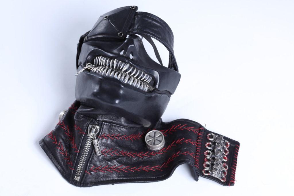 tokyo ghoul dettaglio maschera cosplay