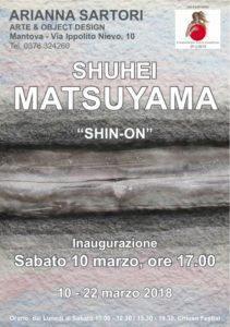 "SHUHEI MATSUYAMA  ""SHIN-ON"" @ Mantova"