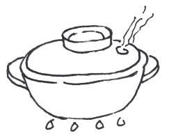 Procedimento riso allo zenzero
