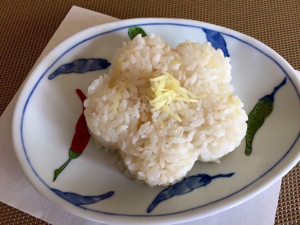 Ricetta riso allo zenzero