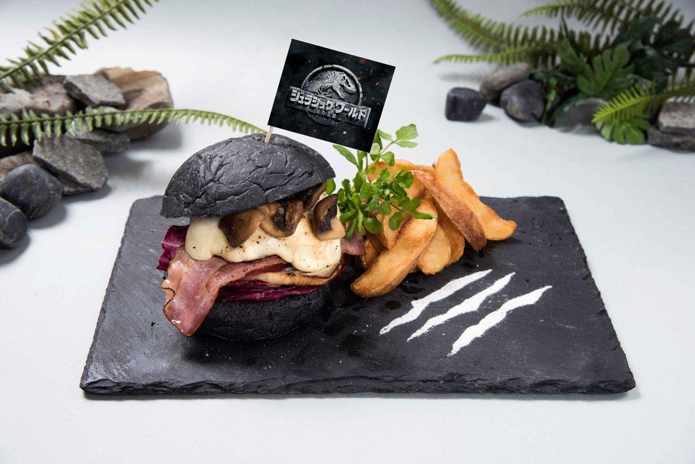 burger jurassic world