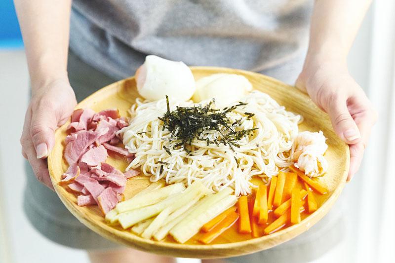 Hiyashi chuka ricetta giapponese