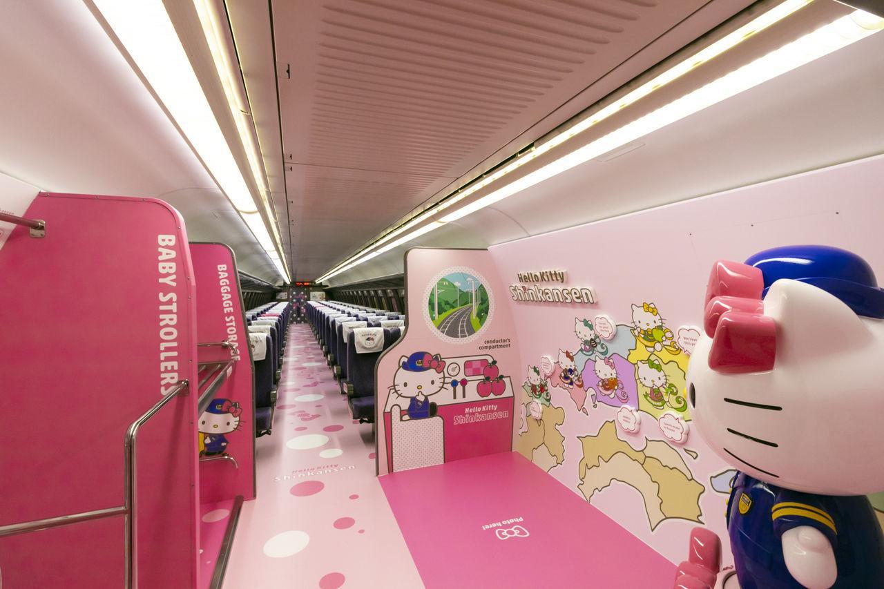 Tavolino Piu Hello Kitty.Come Prendere Il Treno Di Hello Kitty Ohayo