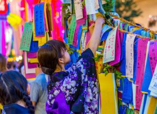 parole e kanji del tanabata tanzaku