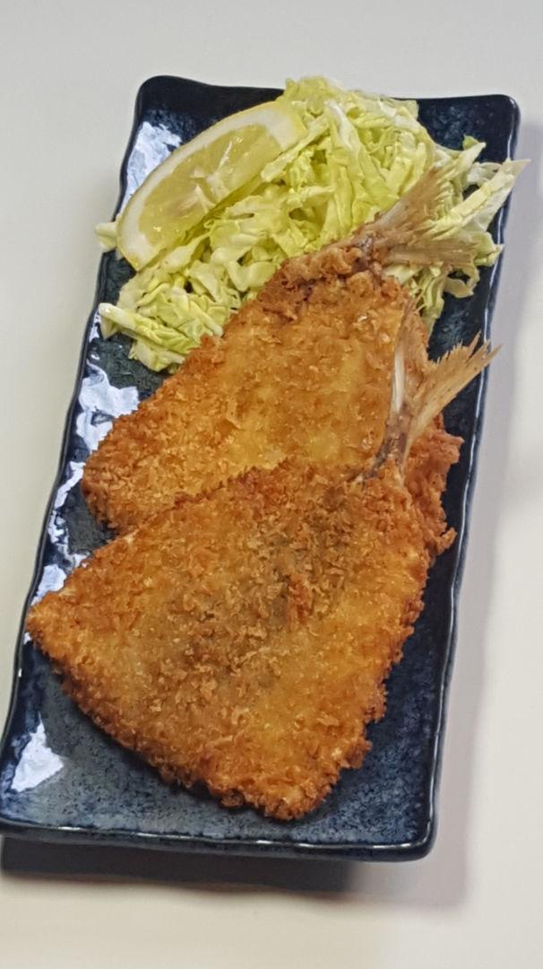 sugarelli fritti aji fry ajifurai giapponesi