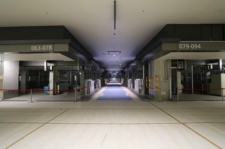 Area offlimits ai turisti al mercato di Toyosu