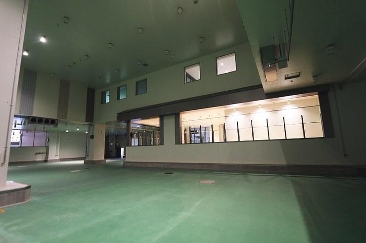 Galleria inferiore per l'asta dei tonni
