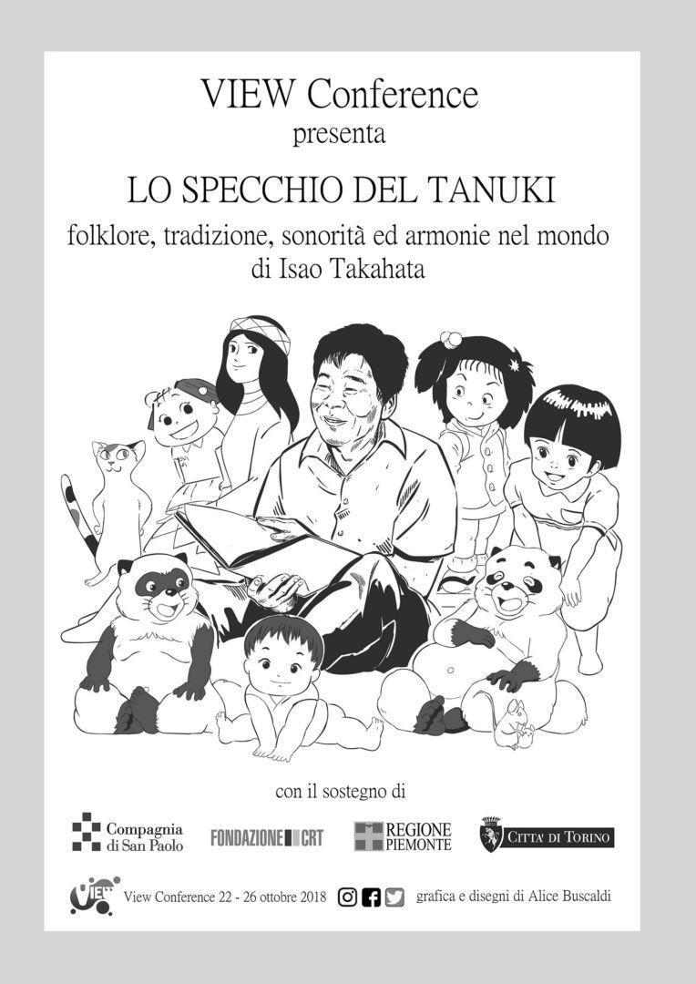 LO SPECCHIO DEL TANUKI  FOLKLORE, tradizione, sonorita' e armonie  nel mondo di Isao Takahata @ Torino