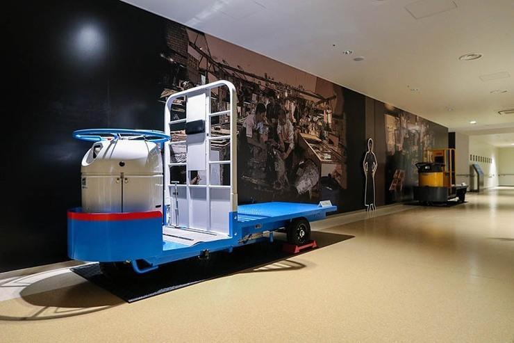 I tipici carretti a gasolio utilizzati anche al mercato di Toyosu