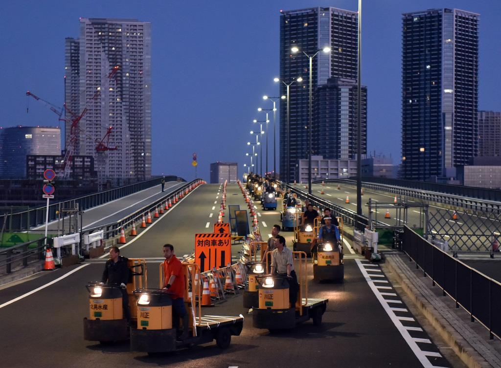 Trasloco da Tsukiji a Toyosu del mercato del pesce