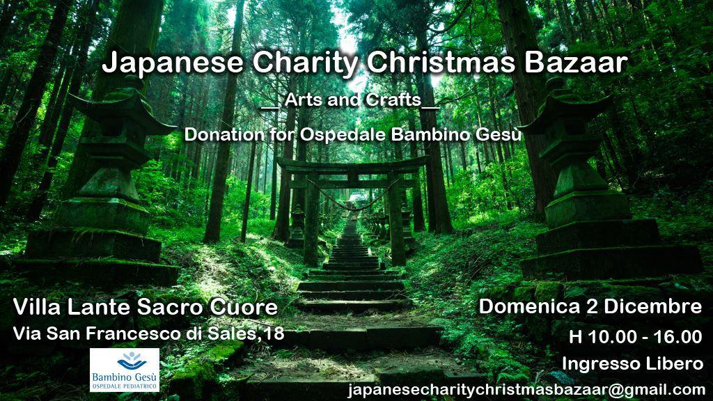 Japanese Charity Christmas Bazaar - Roma @ Villa Lante Sacro Cuore