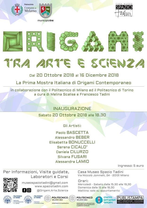 Mostra ORIGAMI - TRA ARTE E SCIENZA @ Milano