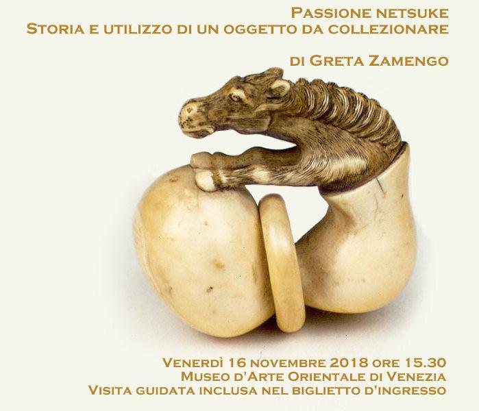 Passione netsuke - Visita guidata @ Venezia