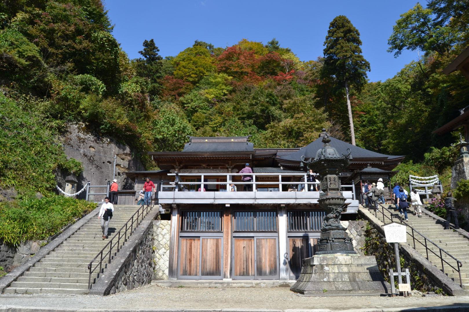 tempio yamadera yamagata come arrivare matsuo basho