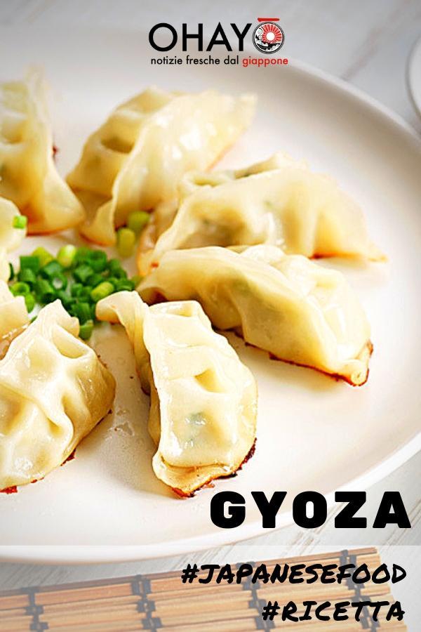 gyoza giapponesi ricetta