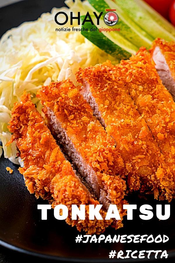 ricetta tonkatsu giapponese cotoletta di maiale impanata