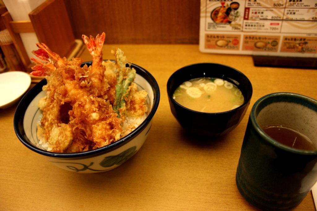 tempura pesce verdure fritto giapponese ricetta tendon