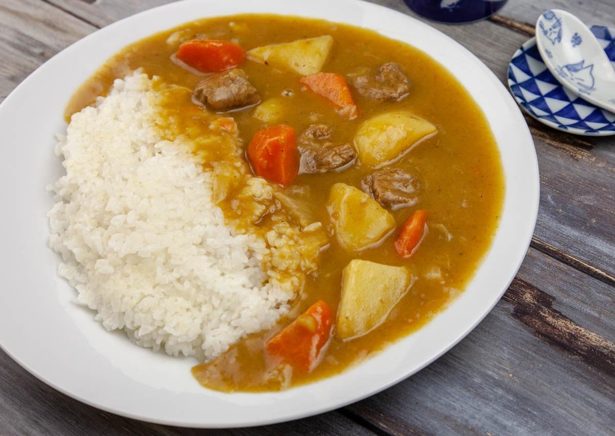 ricetta per riso al curry giapponese