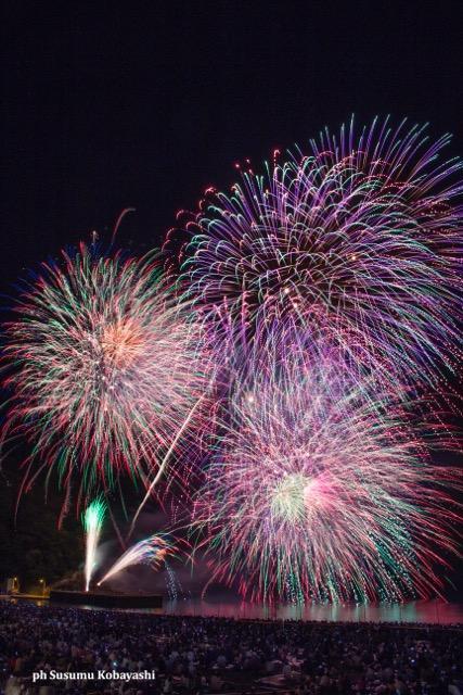 fuochi artificio festival kumano