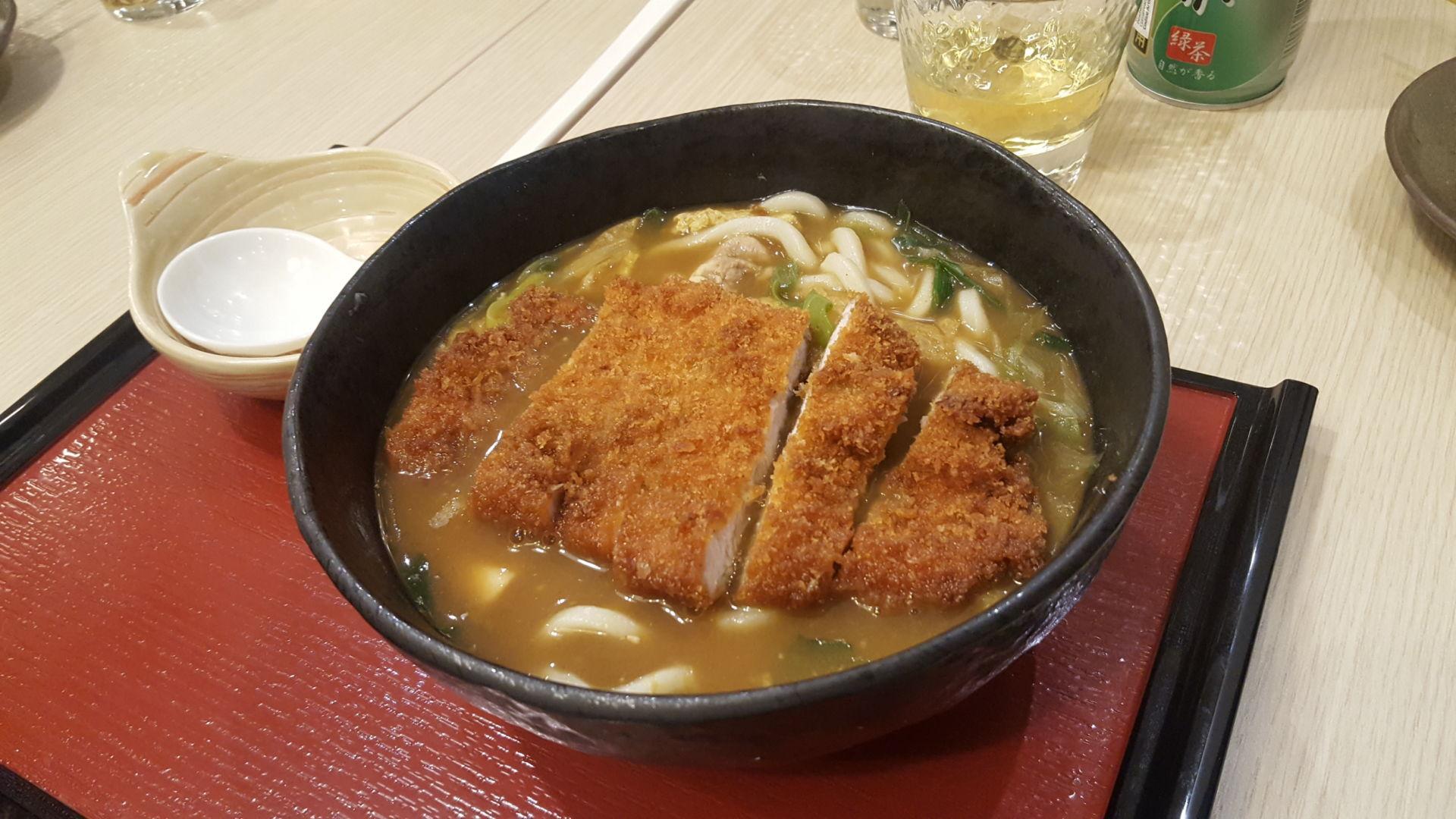 katsu curry udon tonkatsu
