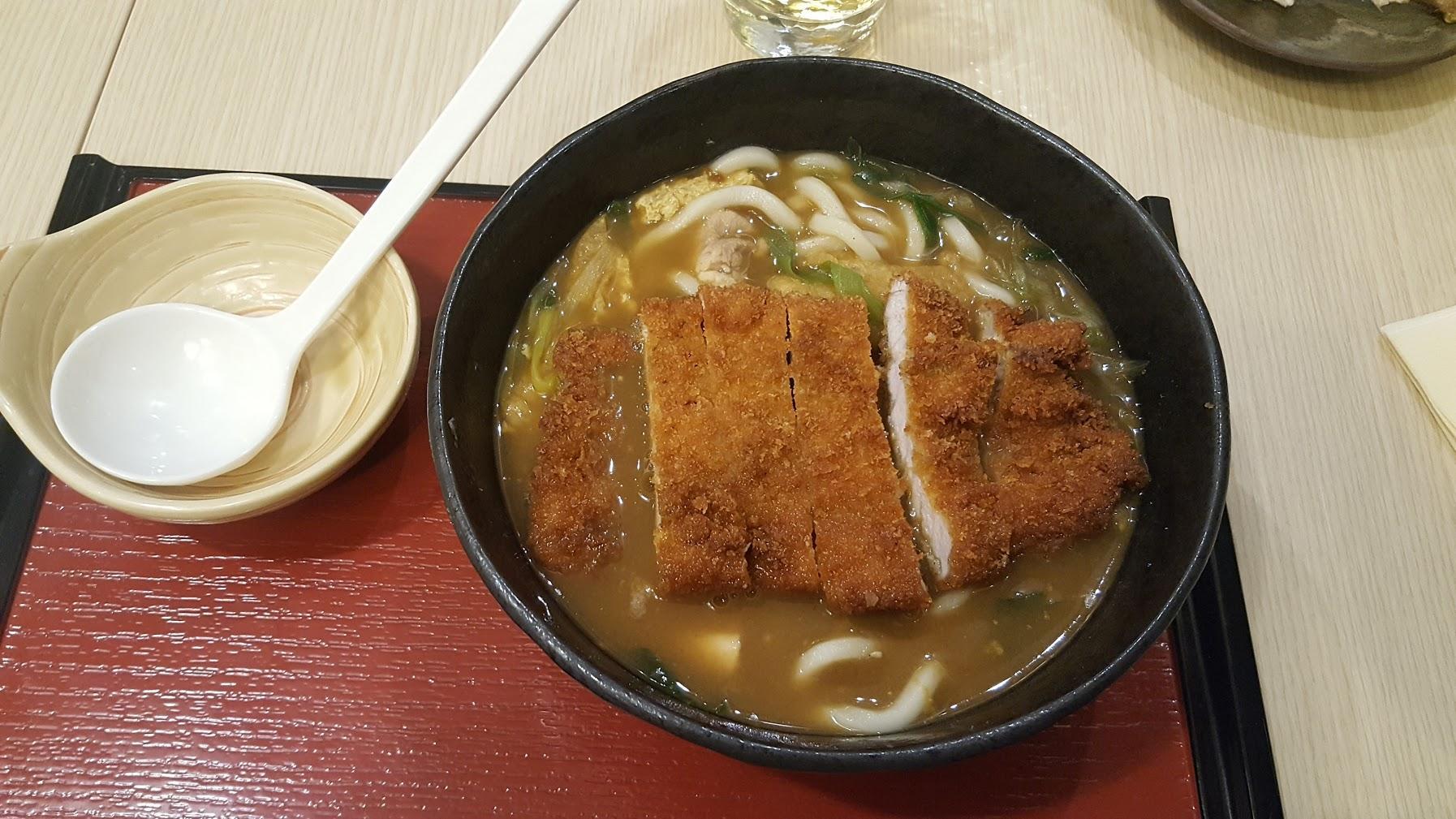 udon katsu curry