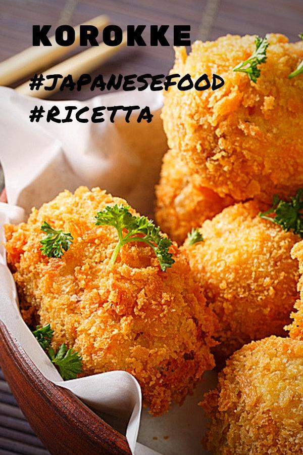 korokke crocchette di patate street food giappone ricetta pinterest
