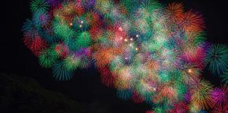 kumano mie fuochi artificio festival matsuri