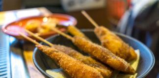 kushiage kushikatsu ricetta spiedini fritti giapponesi osaka