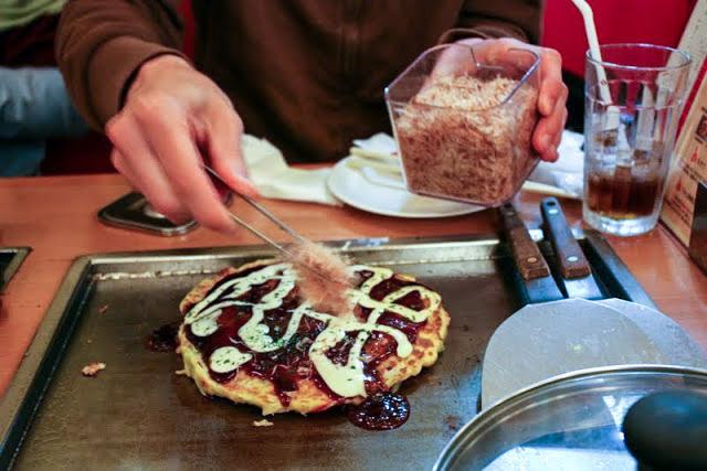 okonomiyaki preparare ricetta