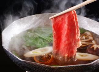 shabu shabu pentola giapponese manzo