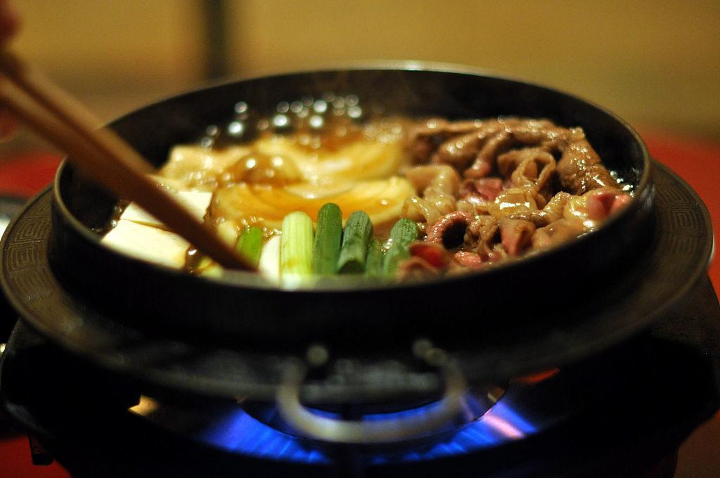 sukiyaki ricetta carne