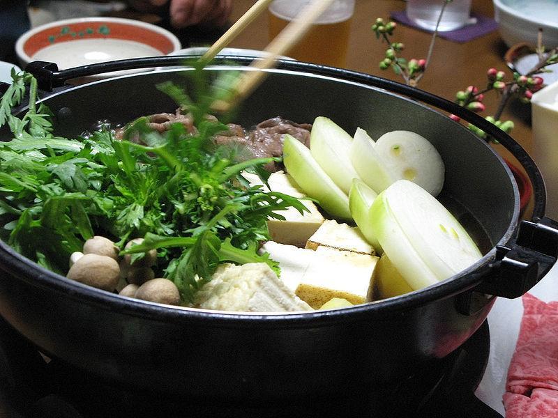 sukiyaki ricetta carne giapponese