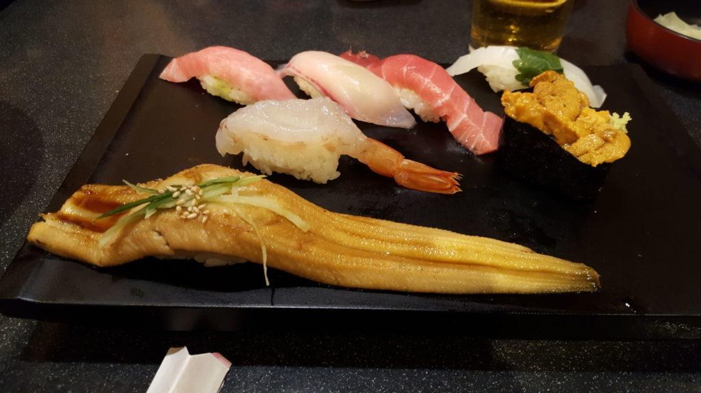 sushi unagi anguilla