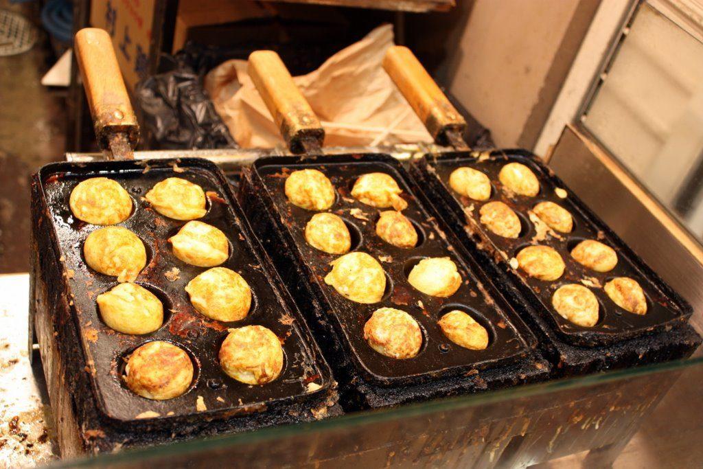 takoyaki piastra polpo ricetta
