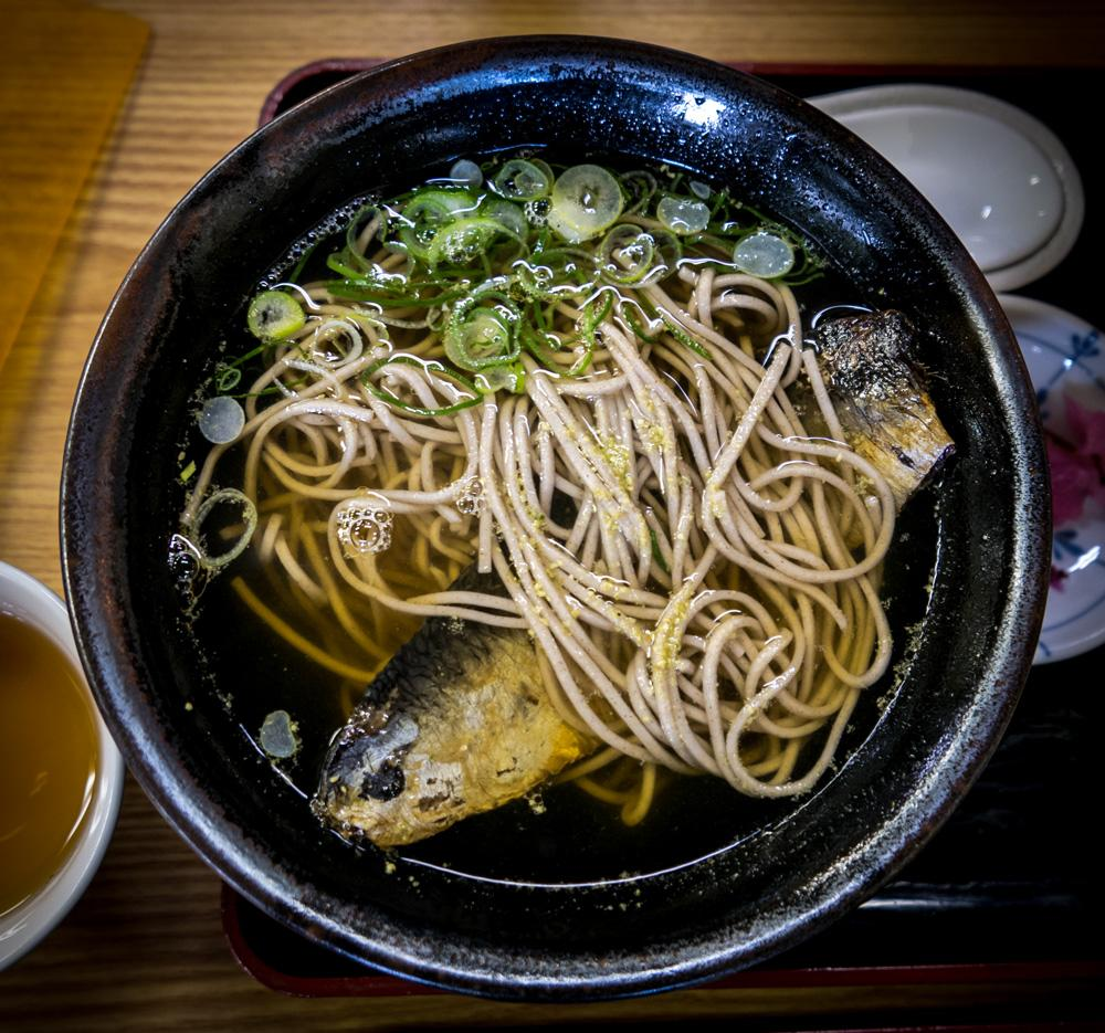 toshikoshi soba capodanno piatto