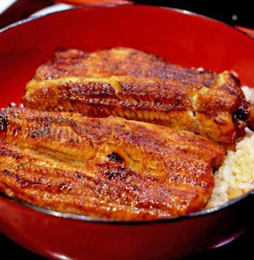 unadon unagi anguilla alla griglia ricetta