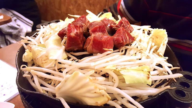 yakiniku carne alla griglia