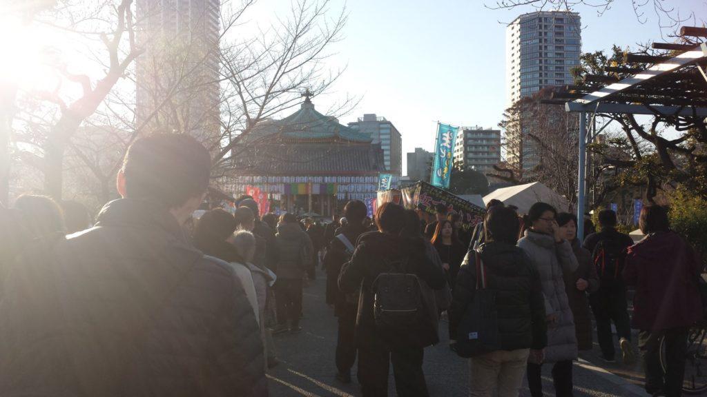 pellegrinaggio della fortuna giappone tokyo