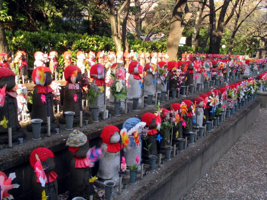 Zojoji jizo divinità giapponesi