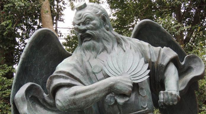 tengu divinità giapponesi shintoiste buddiste