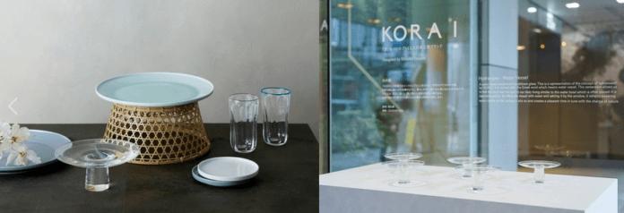 KORAI Exhibition Sense of Nature Fuorisalone it