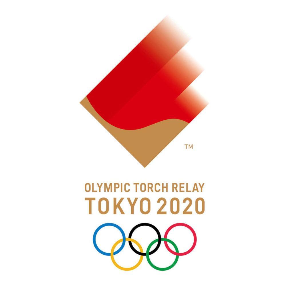 simbolo torcia olimpica tokyo 2020