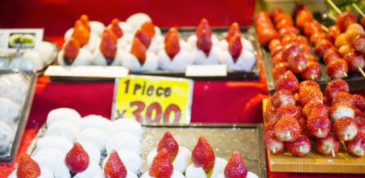 Fragole in giappone