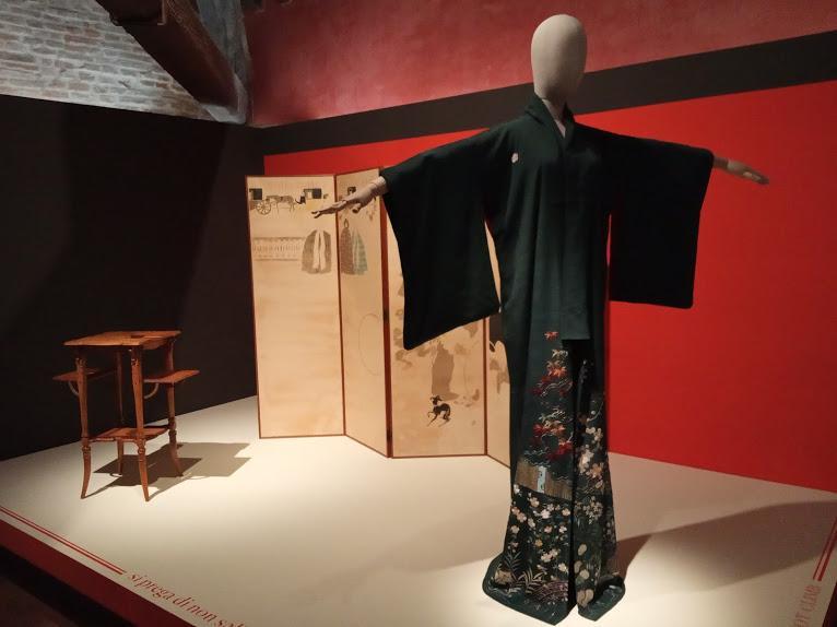 giapponismo mostra rovigo kimono