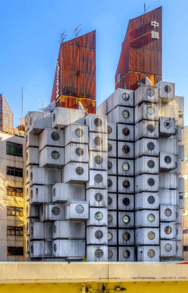 Nakagin capsule tower oggi