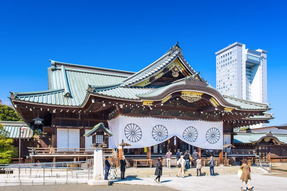 yasukuni tempio santuario tokyo seconda guerra mondiale